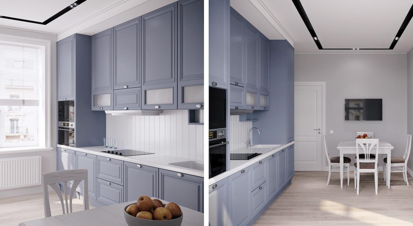 модный интерьер кухни фото 65