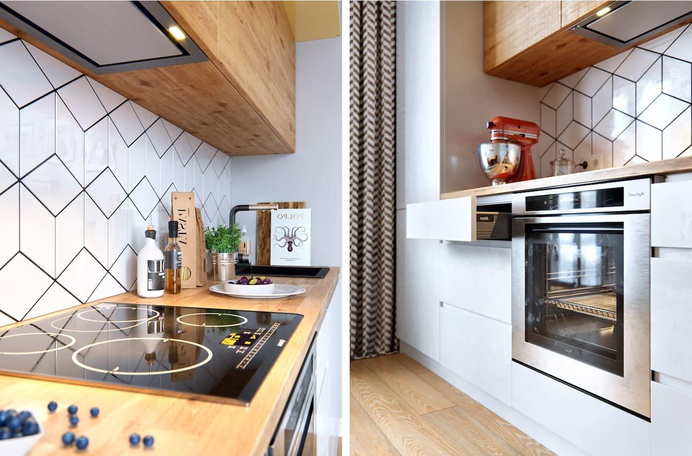 модный интерьер кухни фото 83