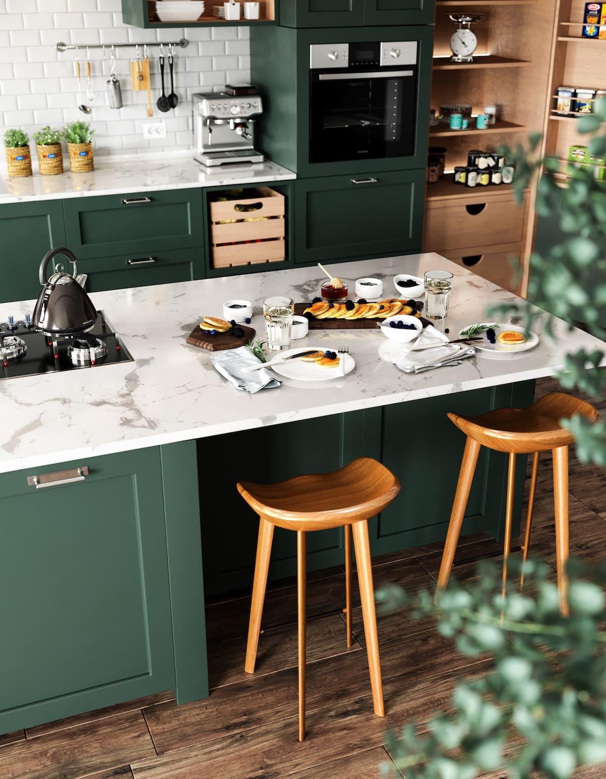 модный интерьер кухни фото 22