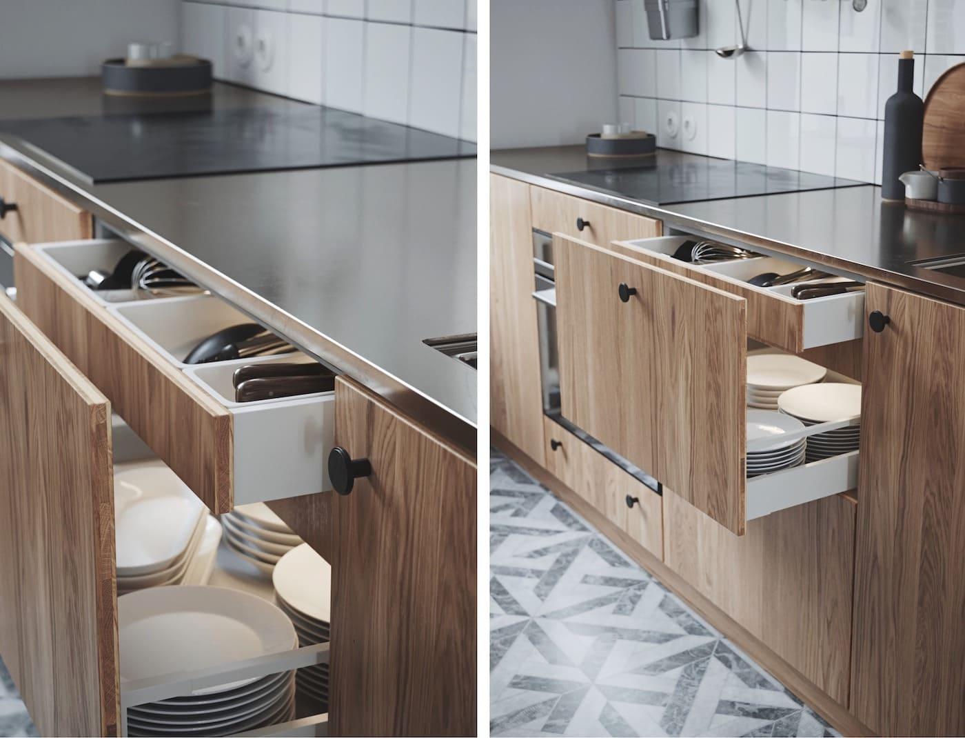 модный интерьер кухни фото 45