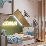 модный дизайн детской комнаты