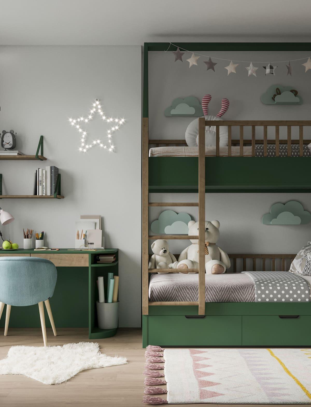 интерьер детской комнаты фото 2