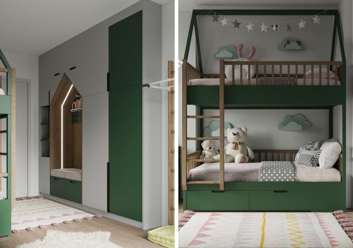 интерьер детской комнаты фото 5