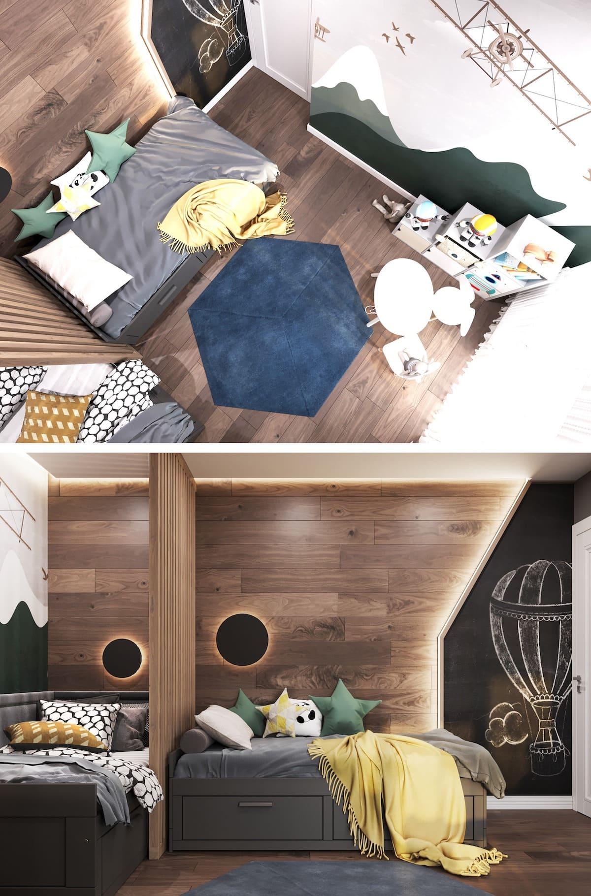 интерьер детской комнаты фото 77