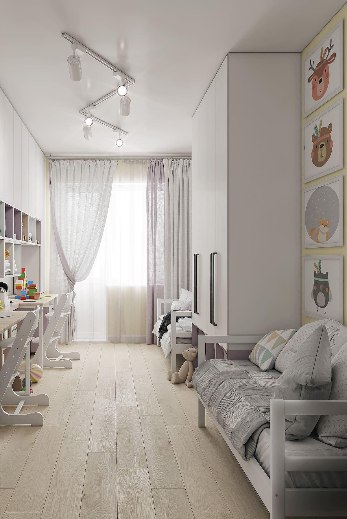 интерьер детской комнаты фото 30