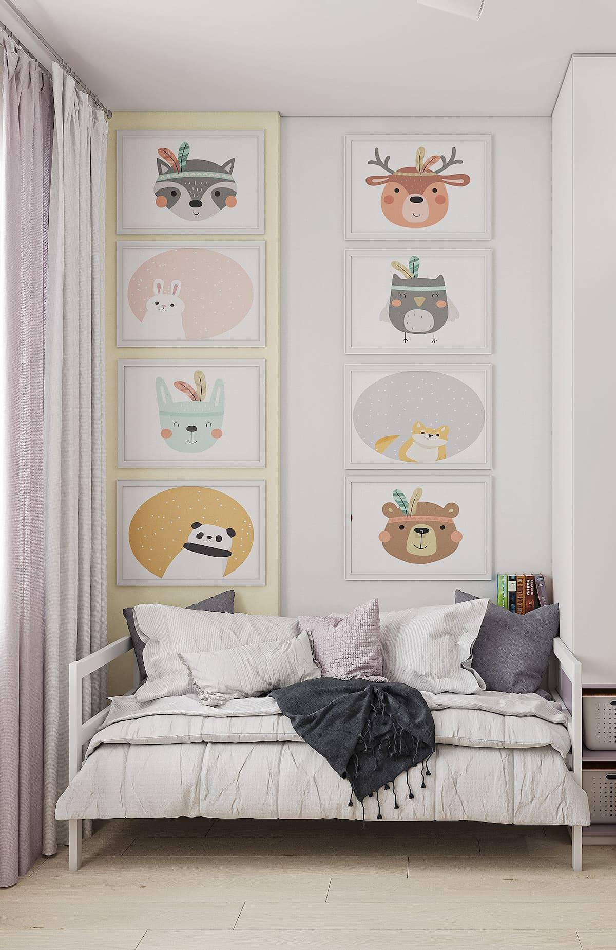 интерьер детской комнаты фото 31