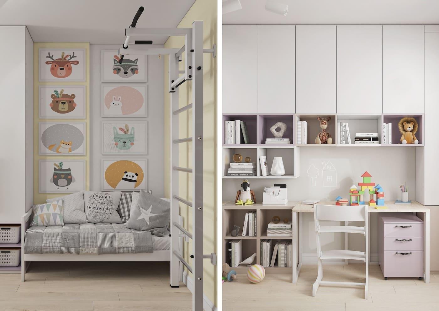интерьер детской комнаты фото 32