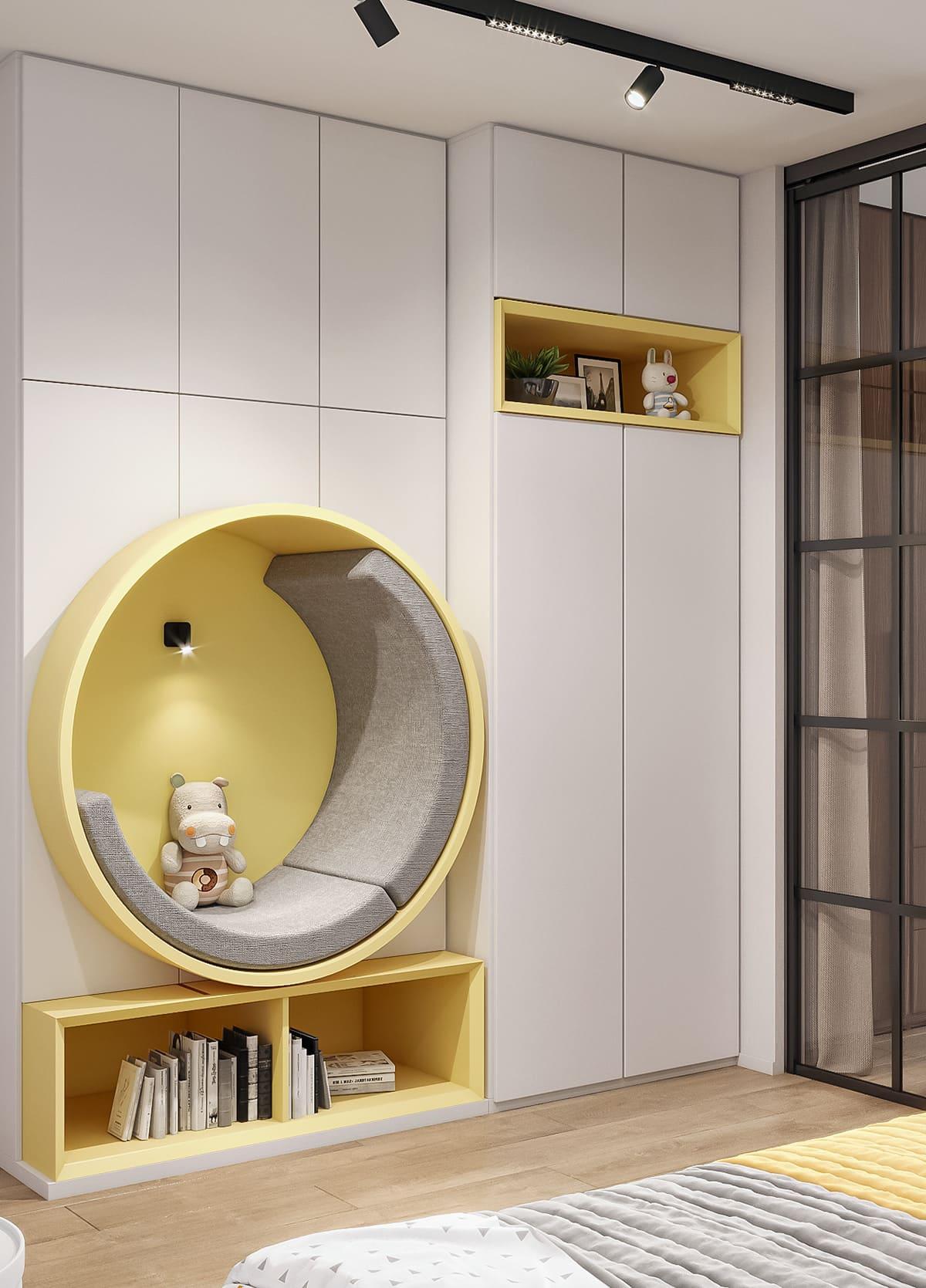 интерьер детской комнаты фото 47