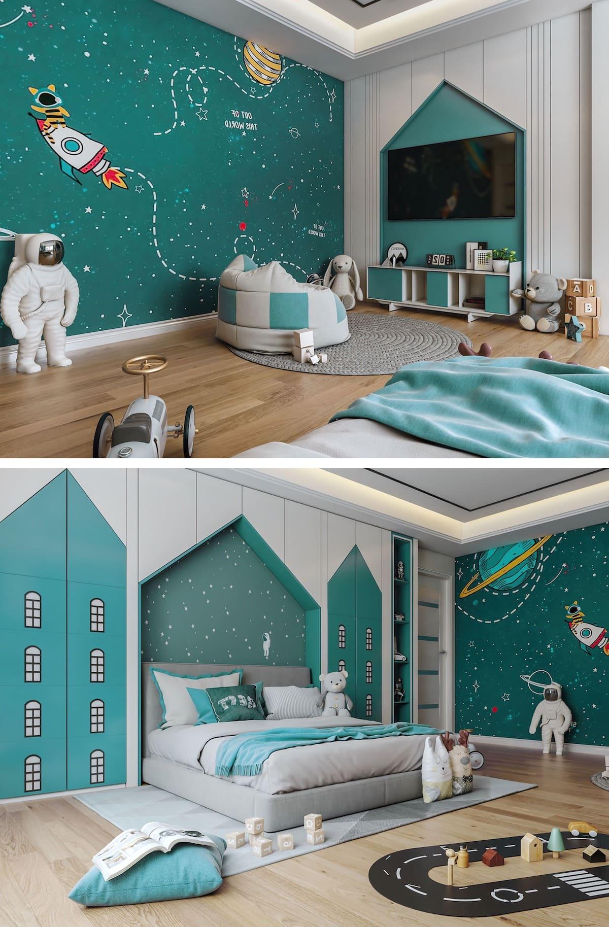интерьер детской комнаты фото 41