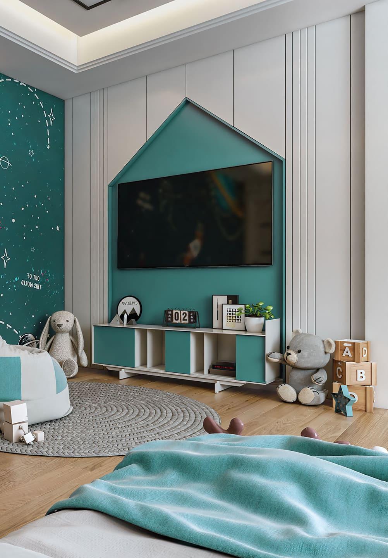 интерьер детской комнаты фото 42
