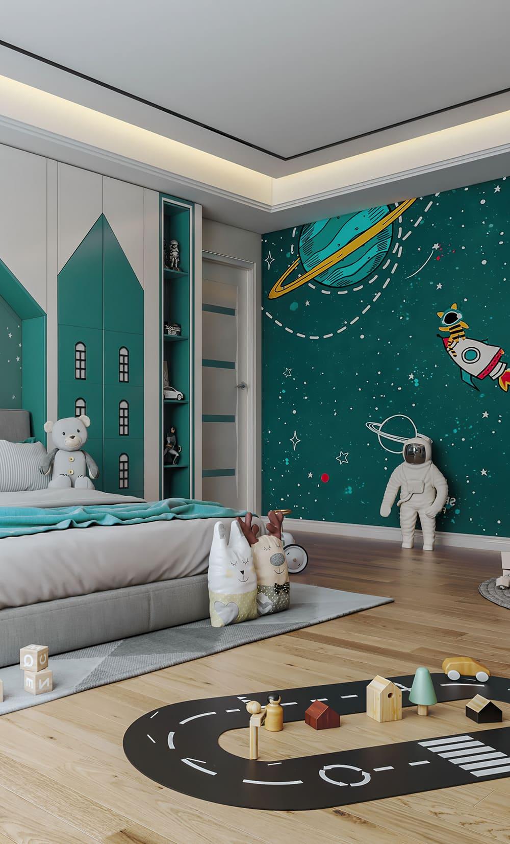 интерьер детской комнаты фото 43