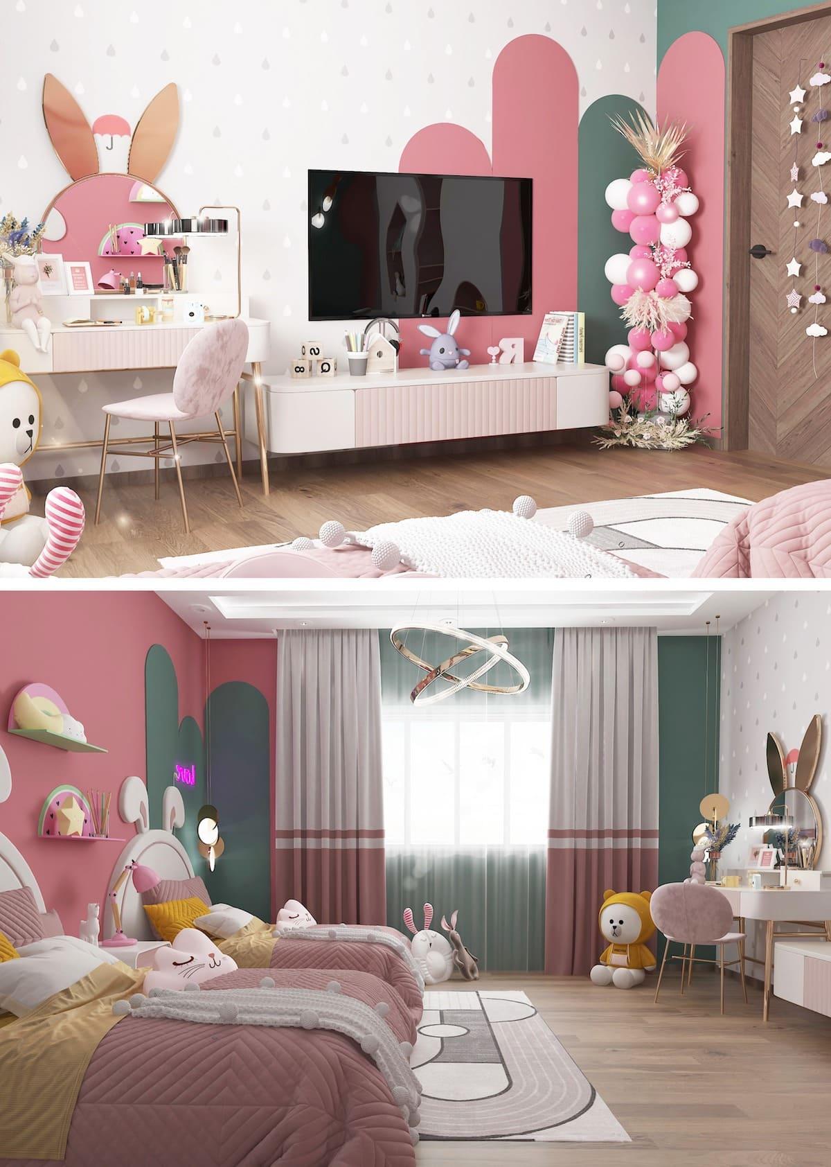 интерьер детской комнаты фото 25