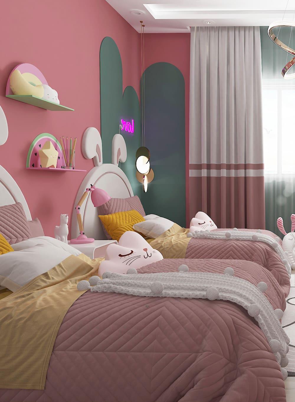интерьер детской комнаты фото 27