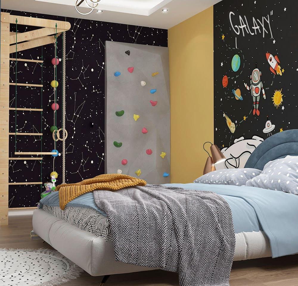 интерьер детской комнаты фото 83