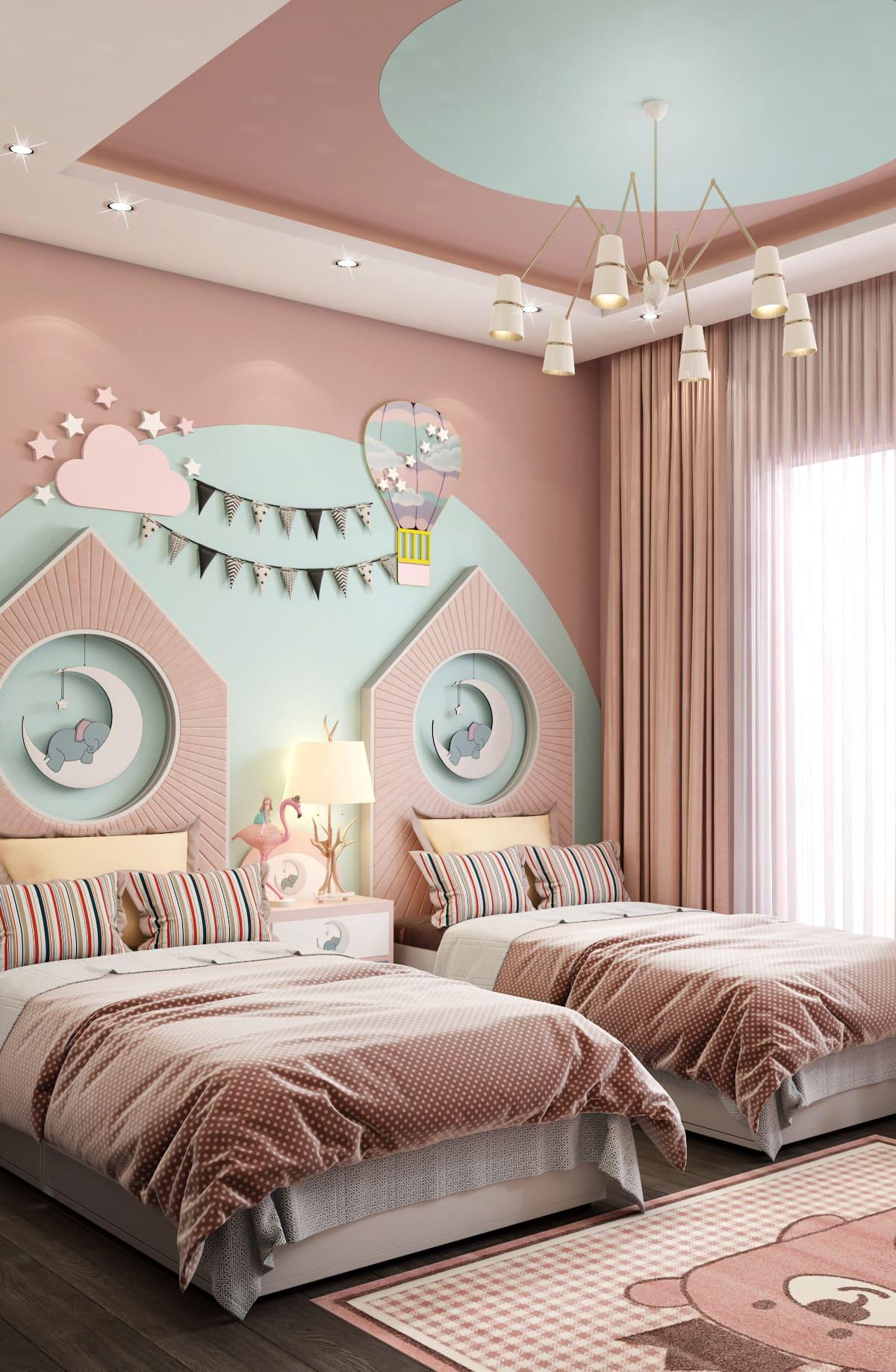 интерьер детской комнаты фото 86