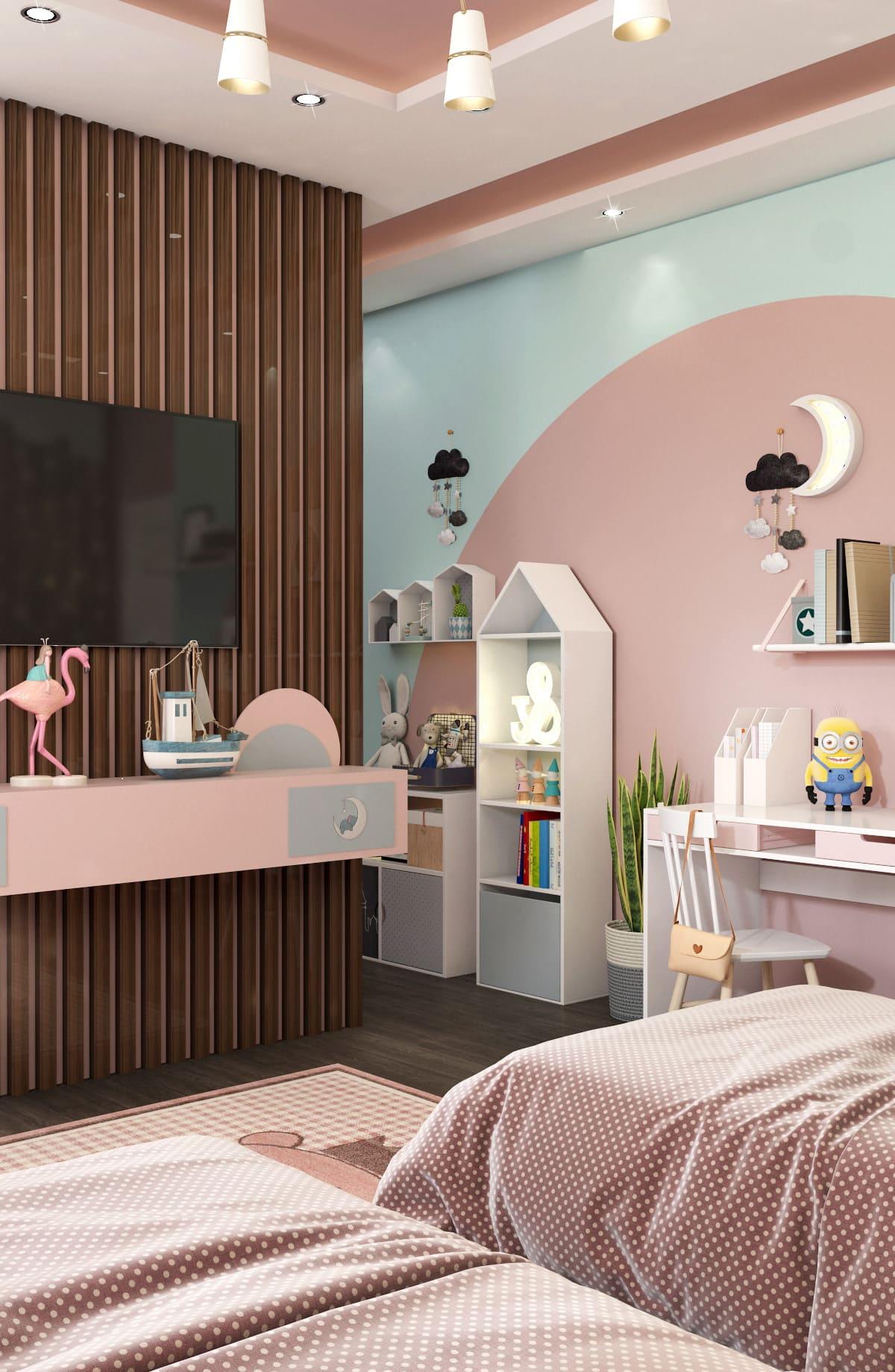 интерьер детской комнаты фото 87