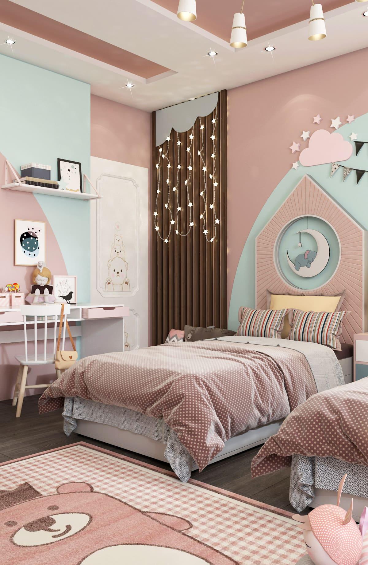 интерьер детской комнаты фото 89