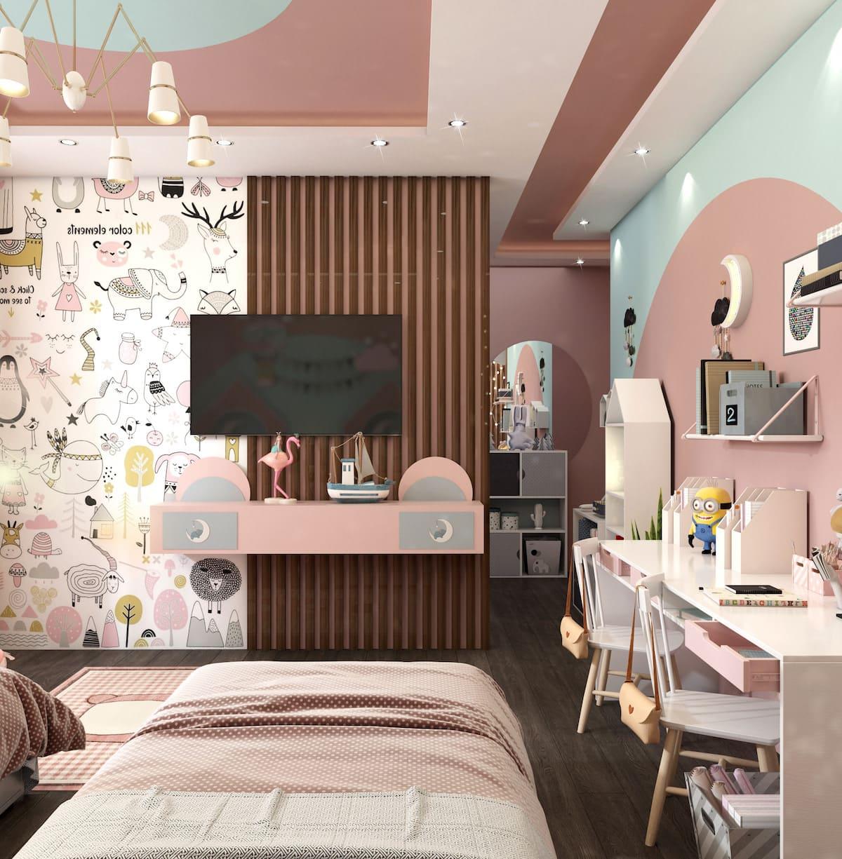 интерьер детской комнаты фото 90