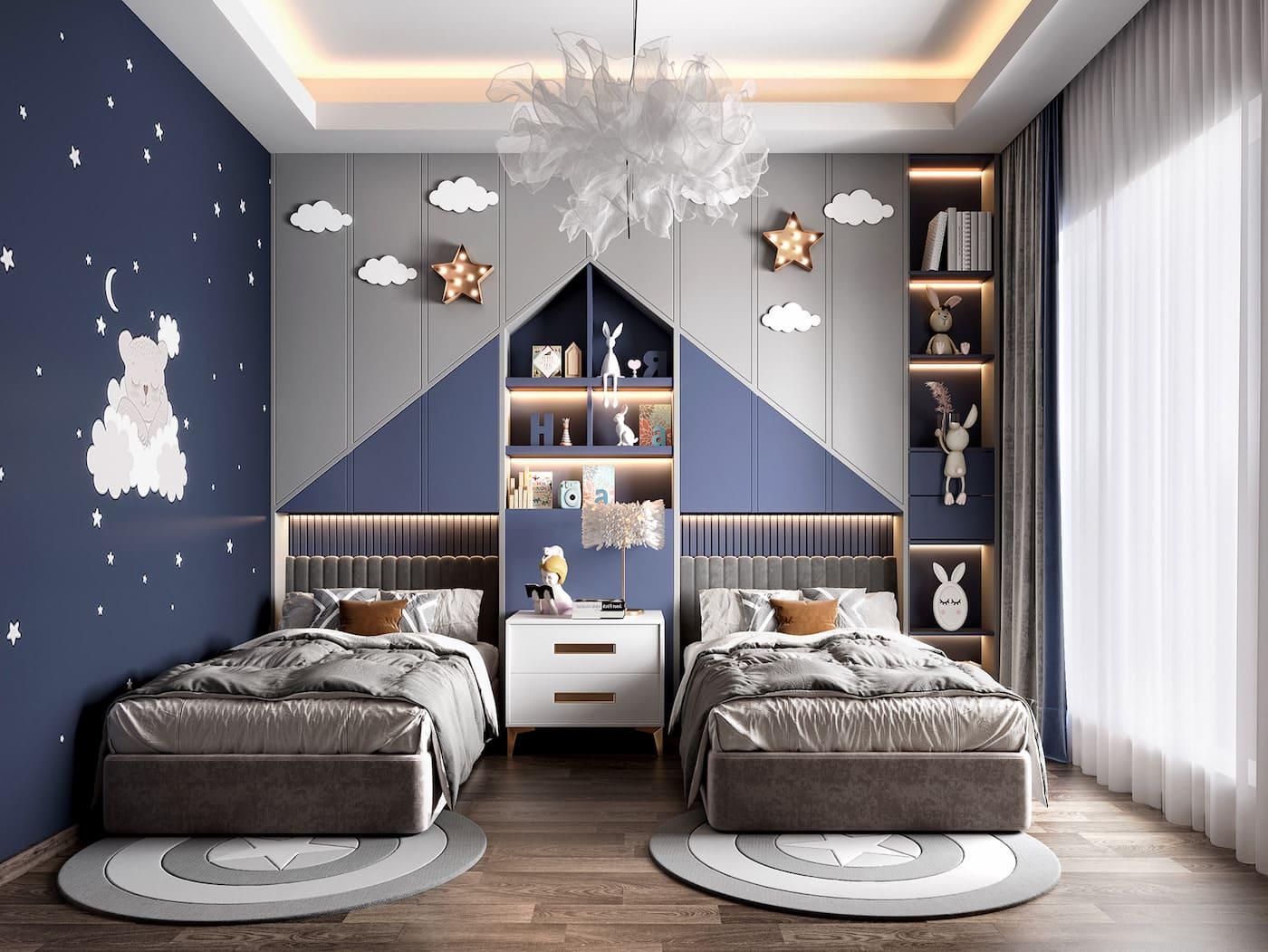 интерьер детской комнаты фото 15