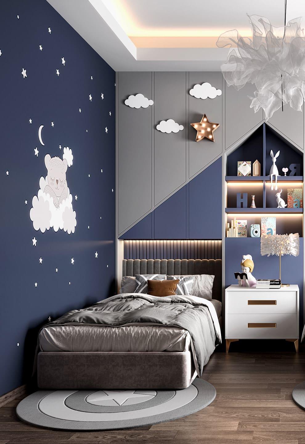 интерьер детской комнаты фото 16