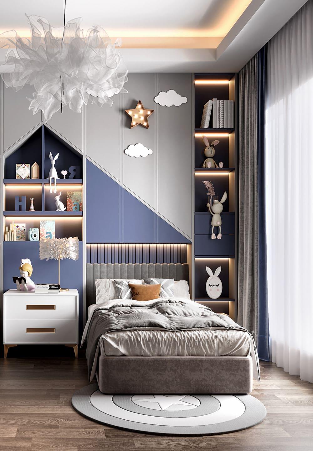 интерьер детской комнаты фото 17