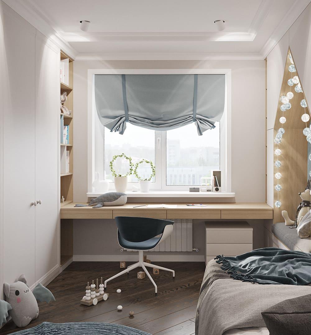 интерьер детской комнаты фото 51