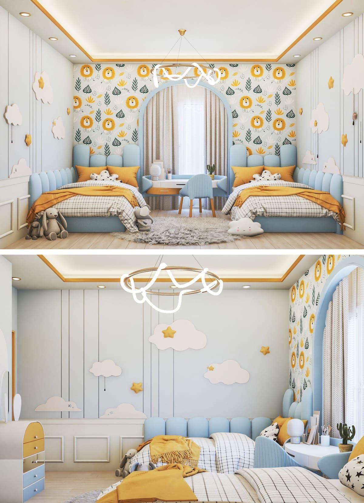 интерьер детской комнаты фото 54