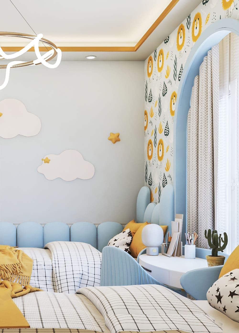 интерьер детской комнаты фото 55