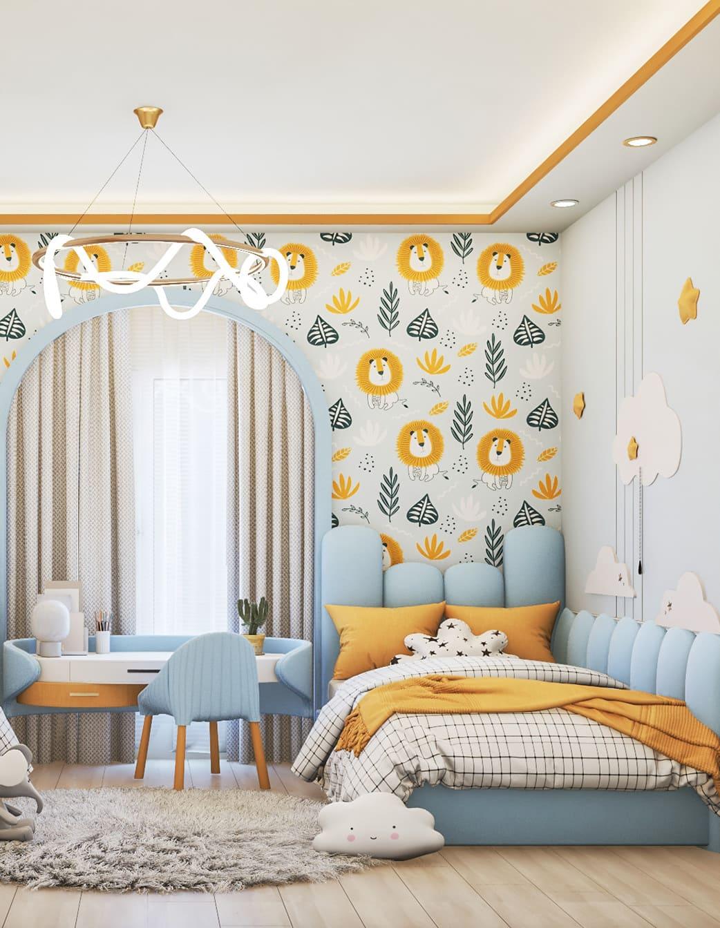 интерьер детской комнаты фото 56