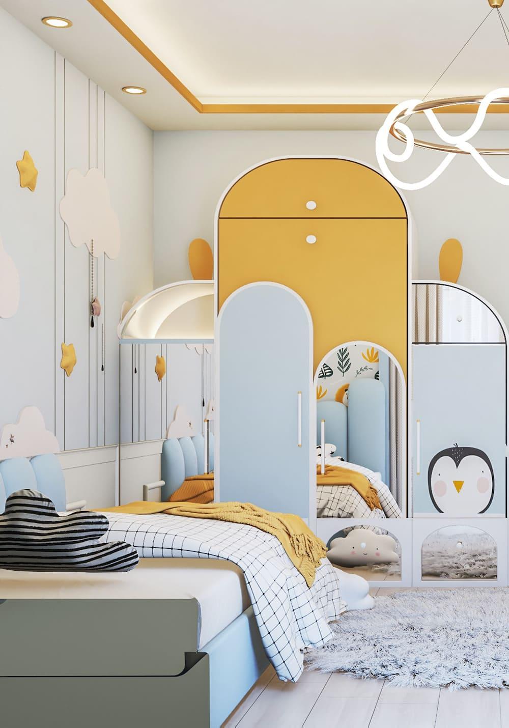 интерьер детской комнаты фото 57
