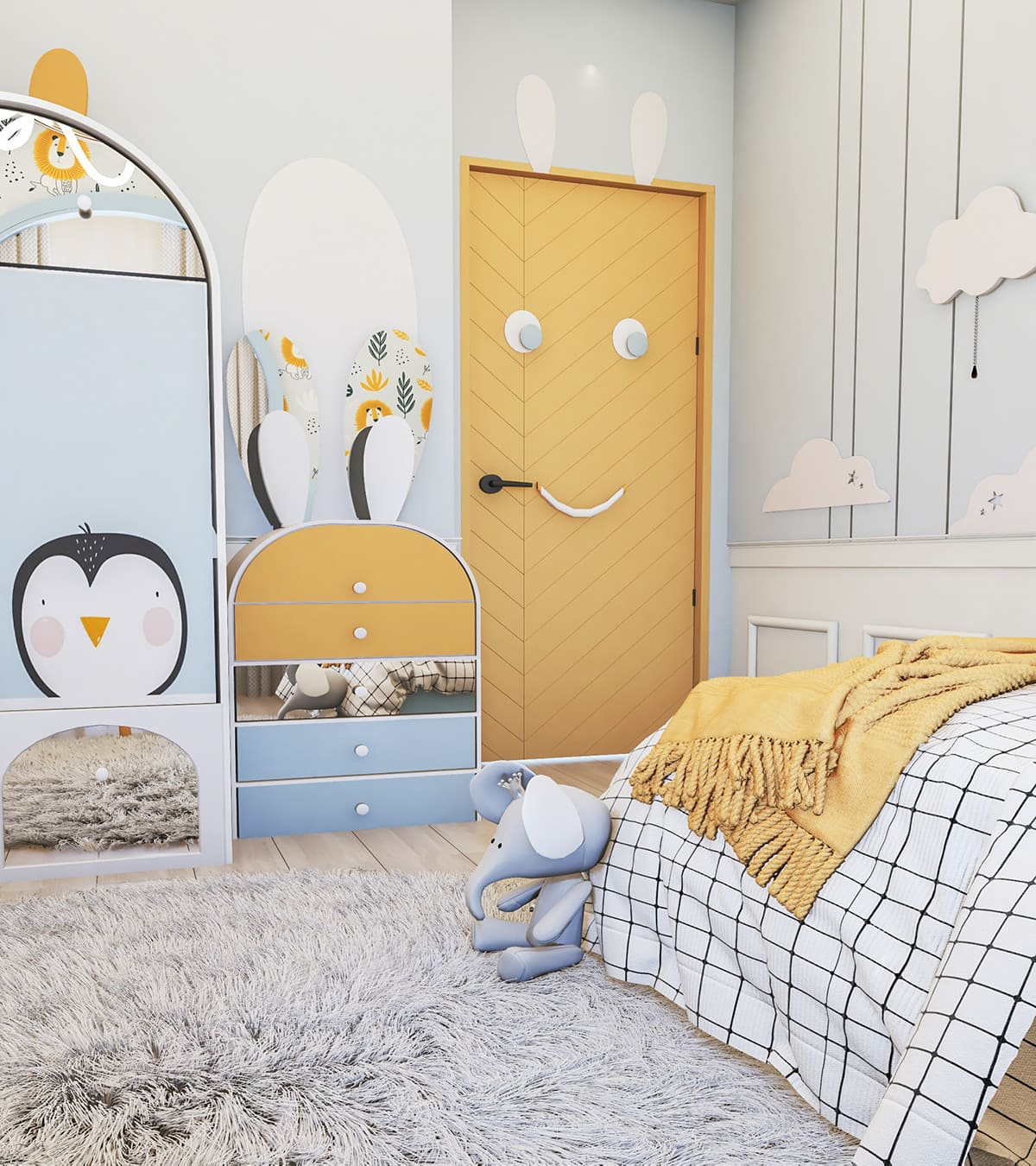 интерьер детской комнаты фото 59