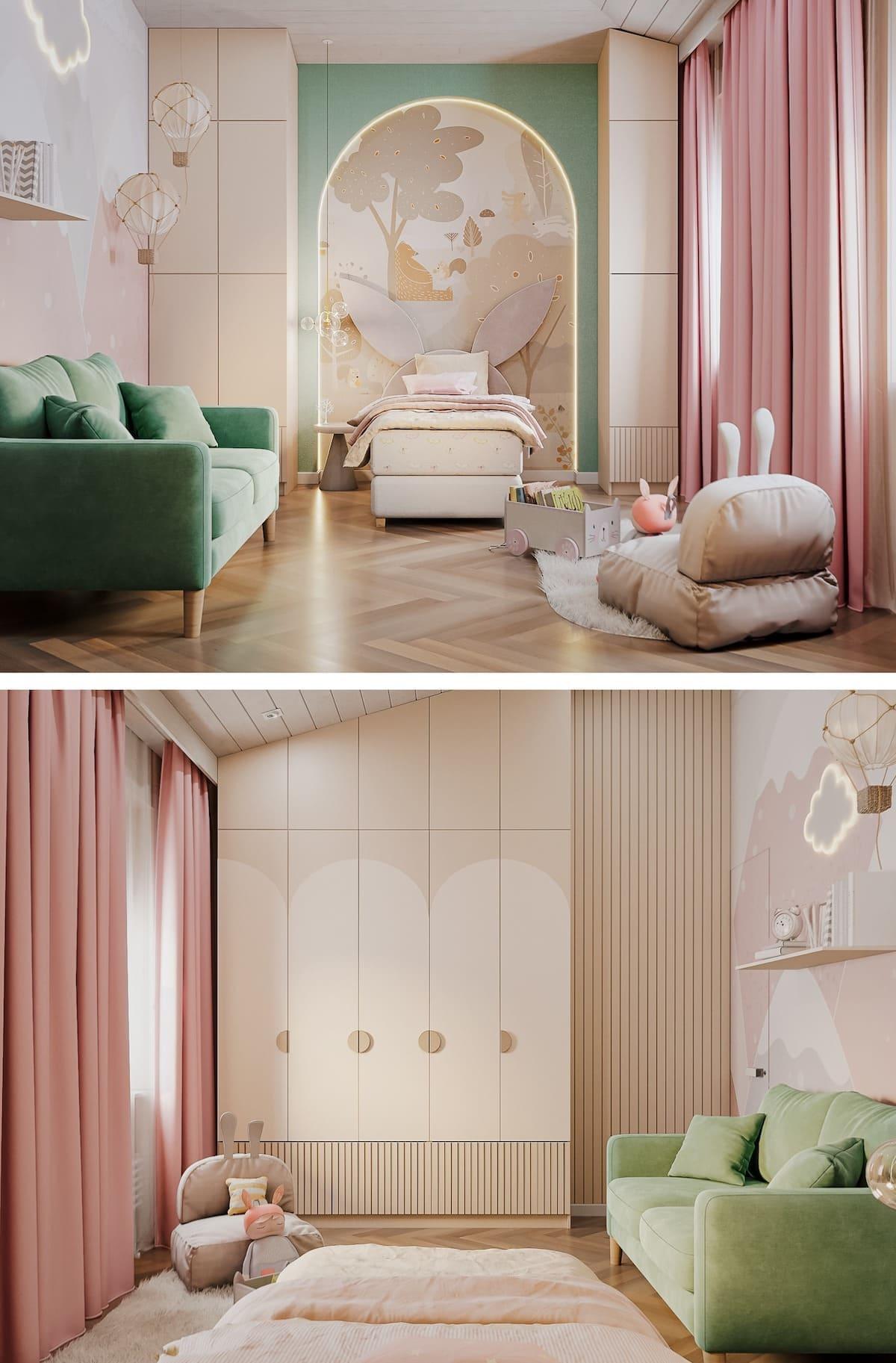 интерьер детской комнаты фото 80