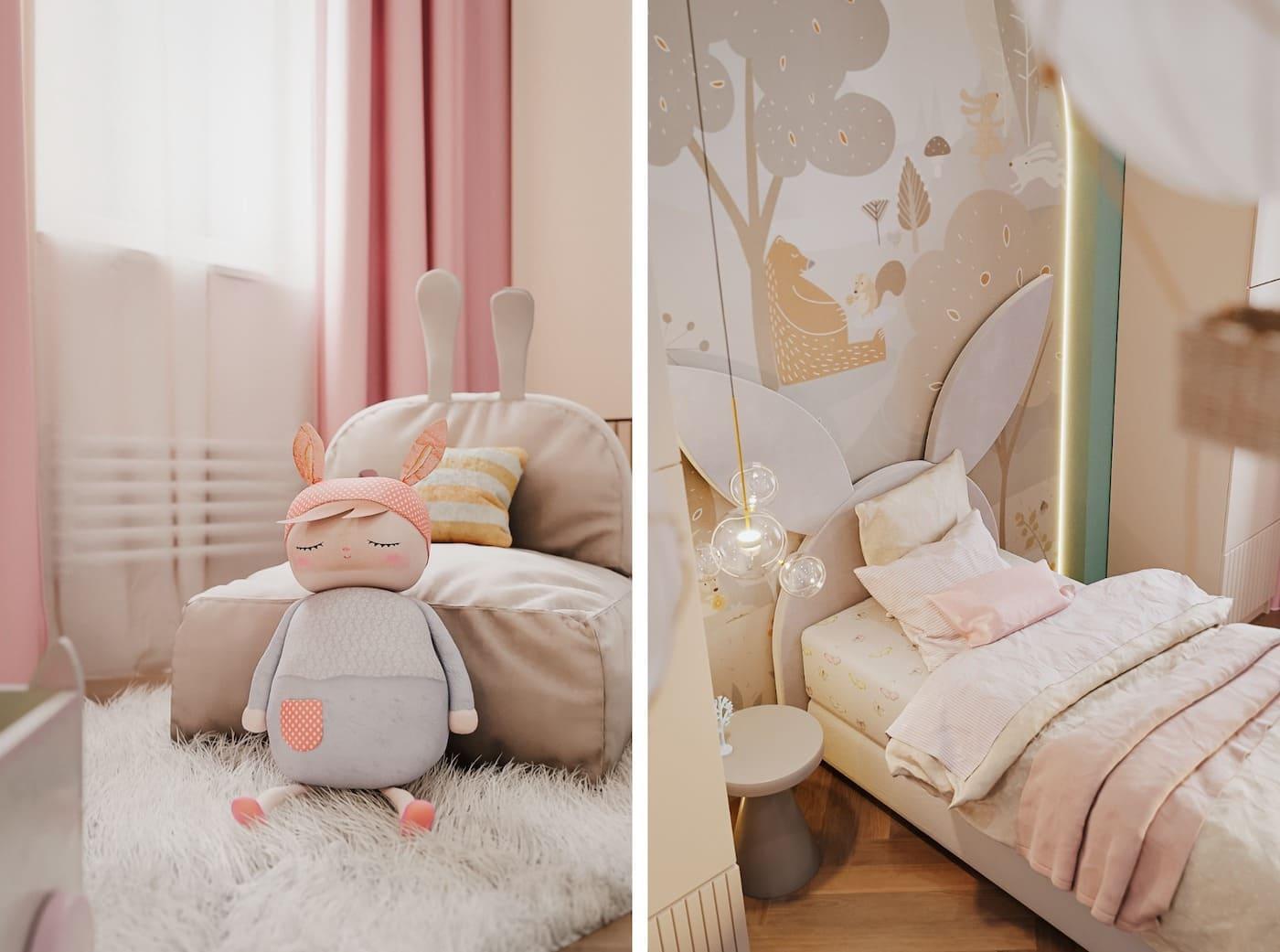 интерьер детской комнаты фото 81