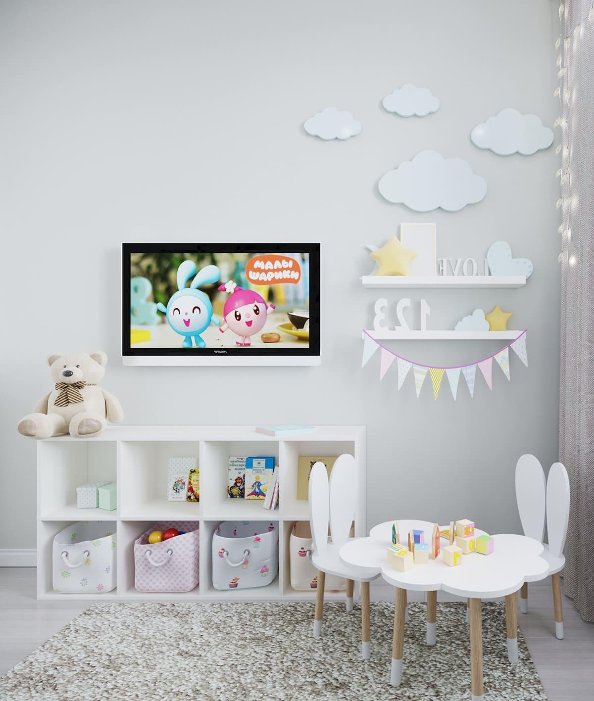 интерьер детской комнаты фото 6