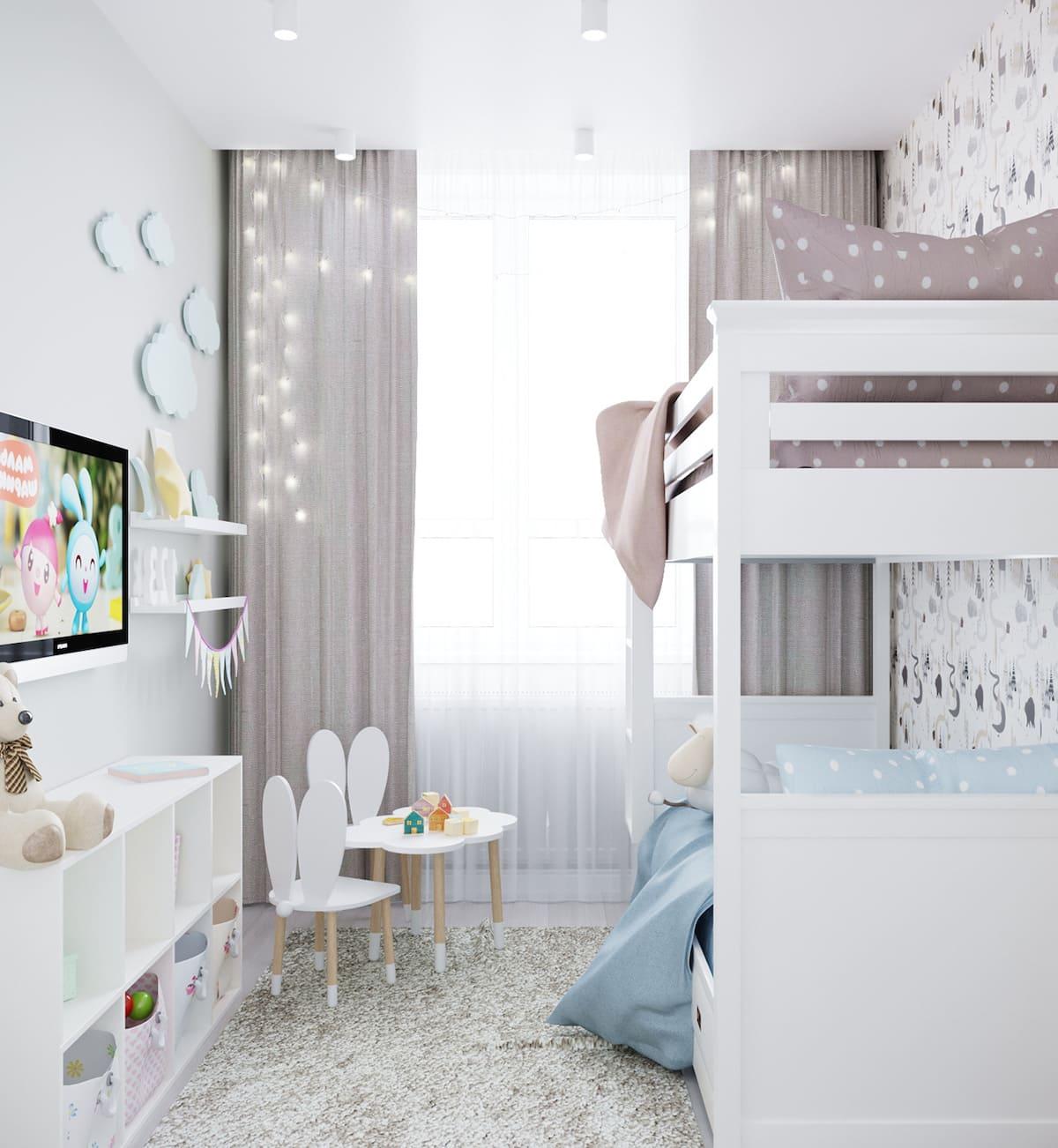 интерьер детской комнаты фото 7