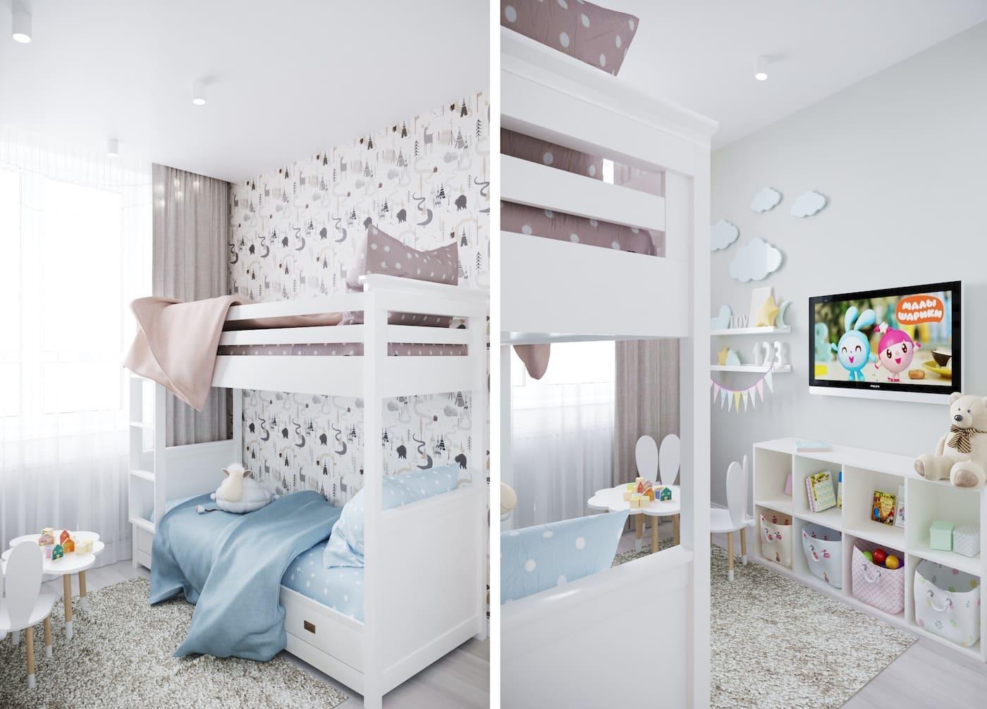 интерьер детской комнаты фото 8