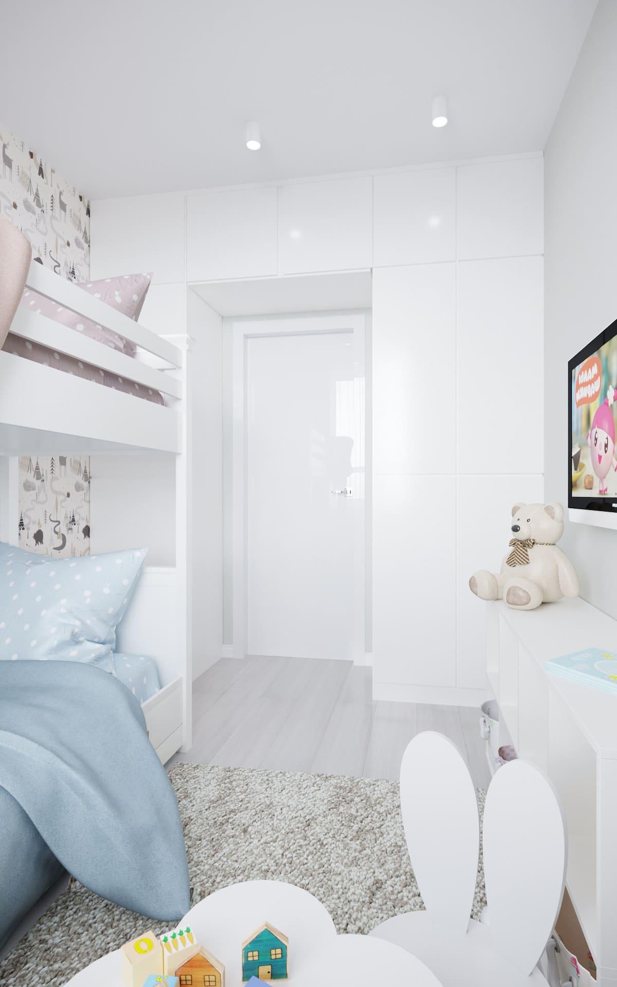 интерьер детской комнаты фото 9