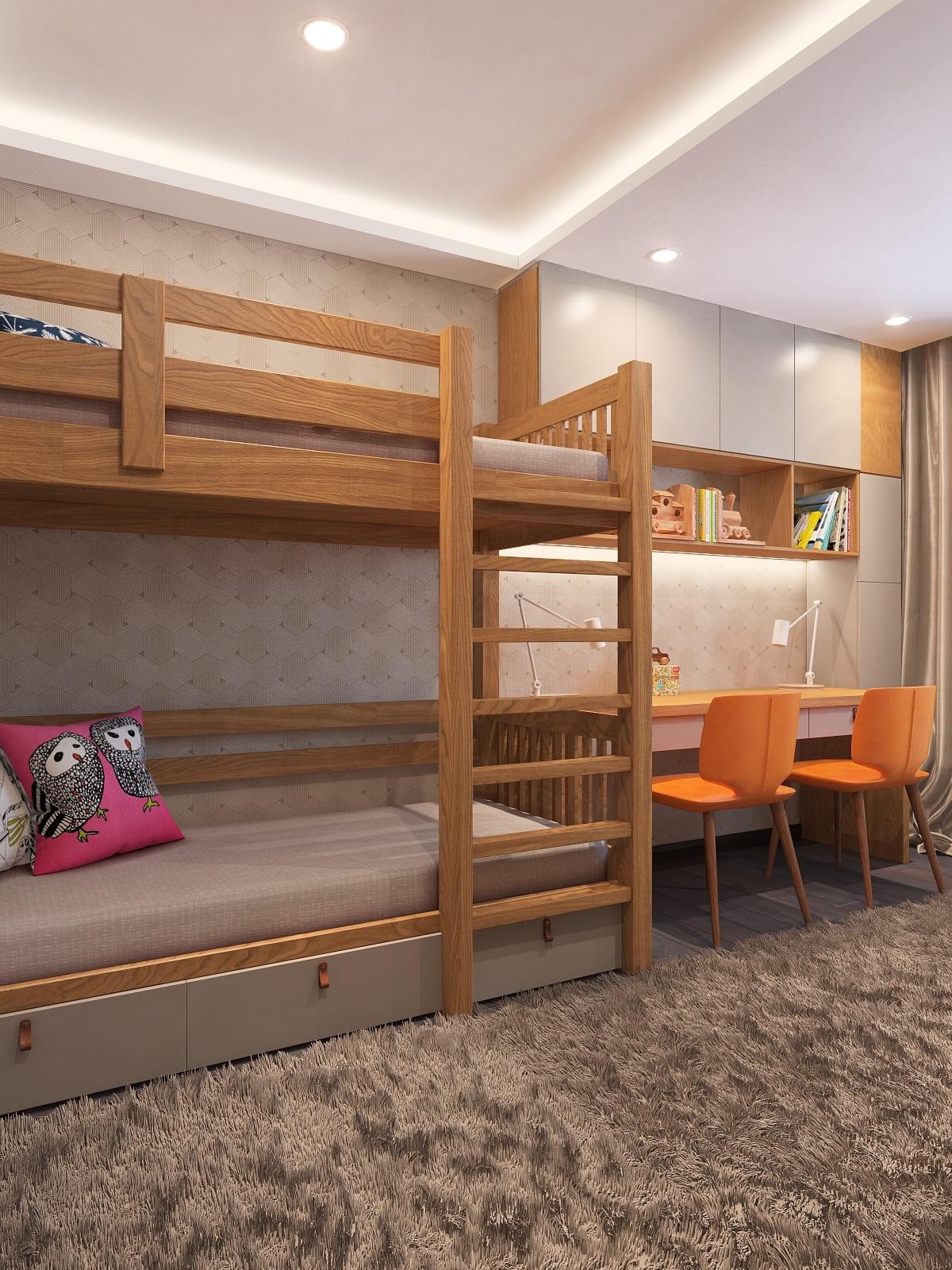 интерьер детской комнаты фото 106