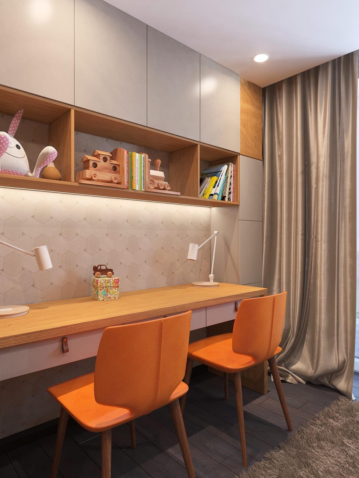интерьер детской комнаты фото 107
