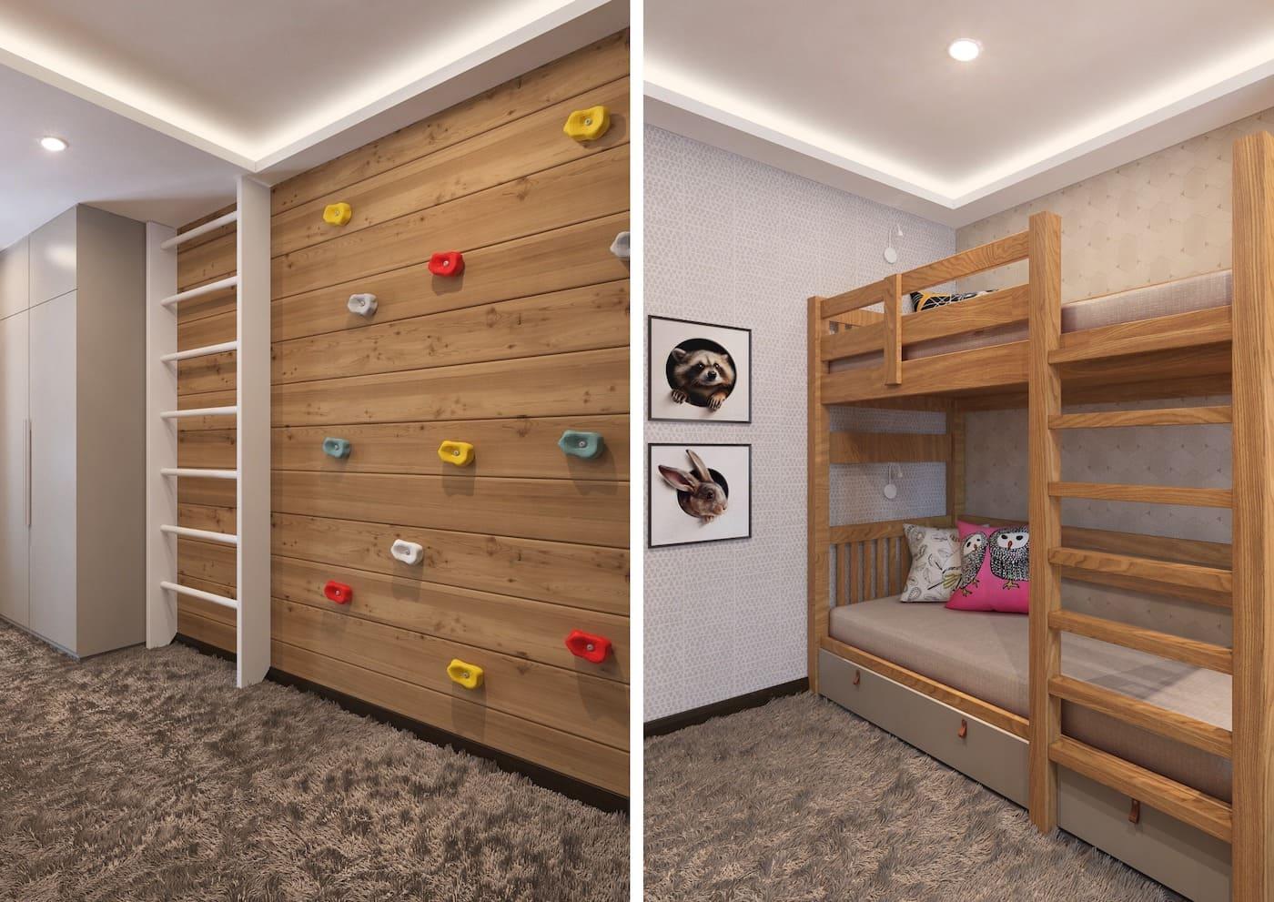 интерьер детской комнаты фото 108