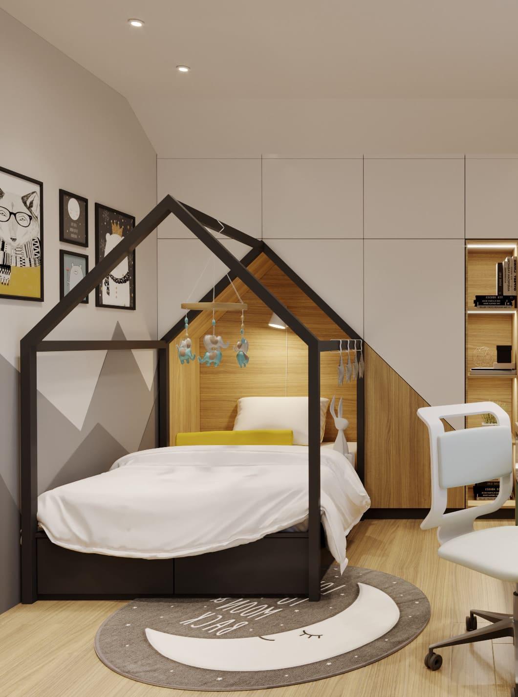 интерьер детской комнаты фото 71
