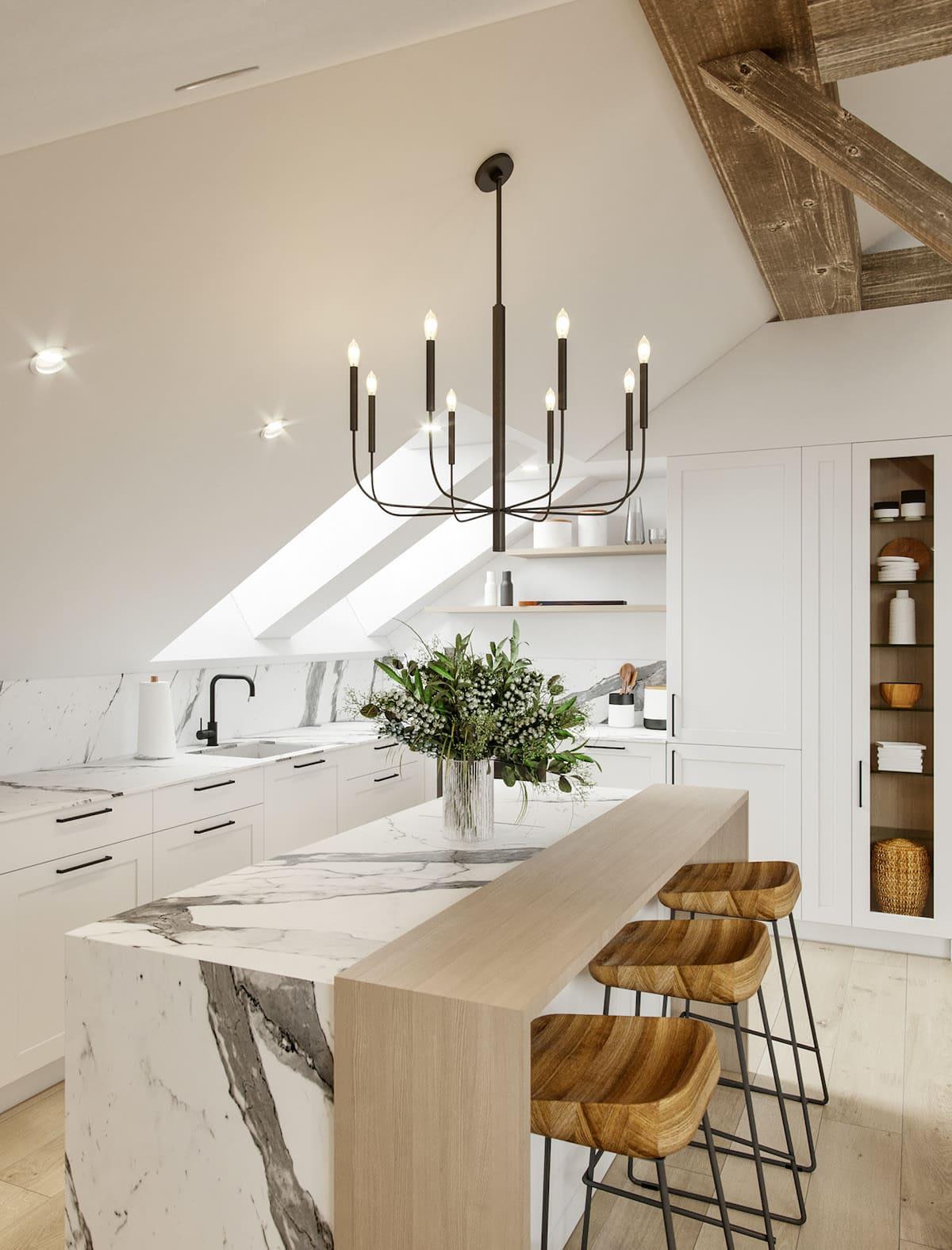 красивый дизайн кухни 1