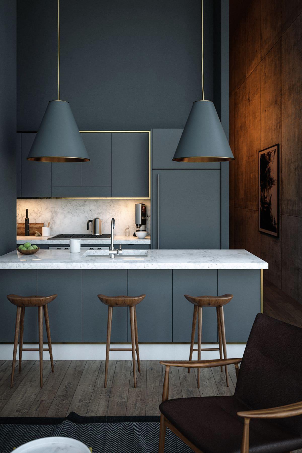 красивый дизайн кухни 41