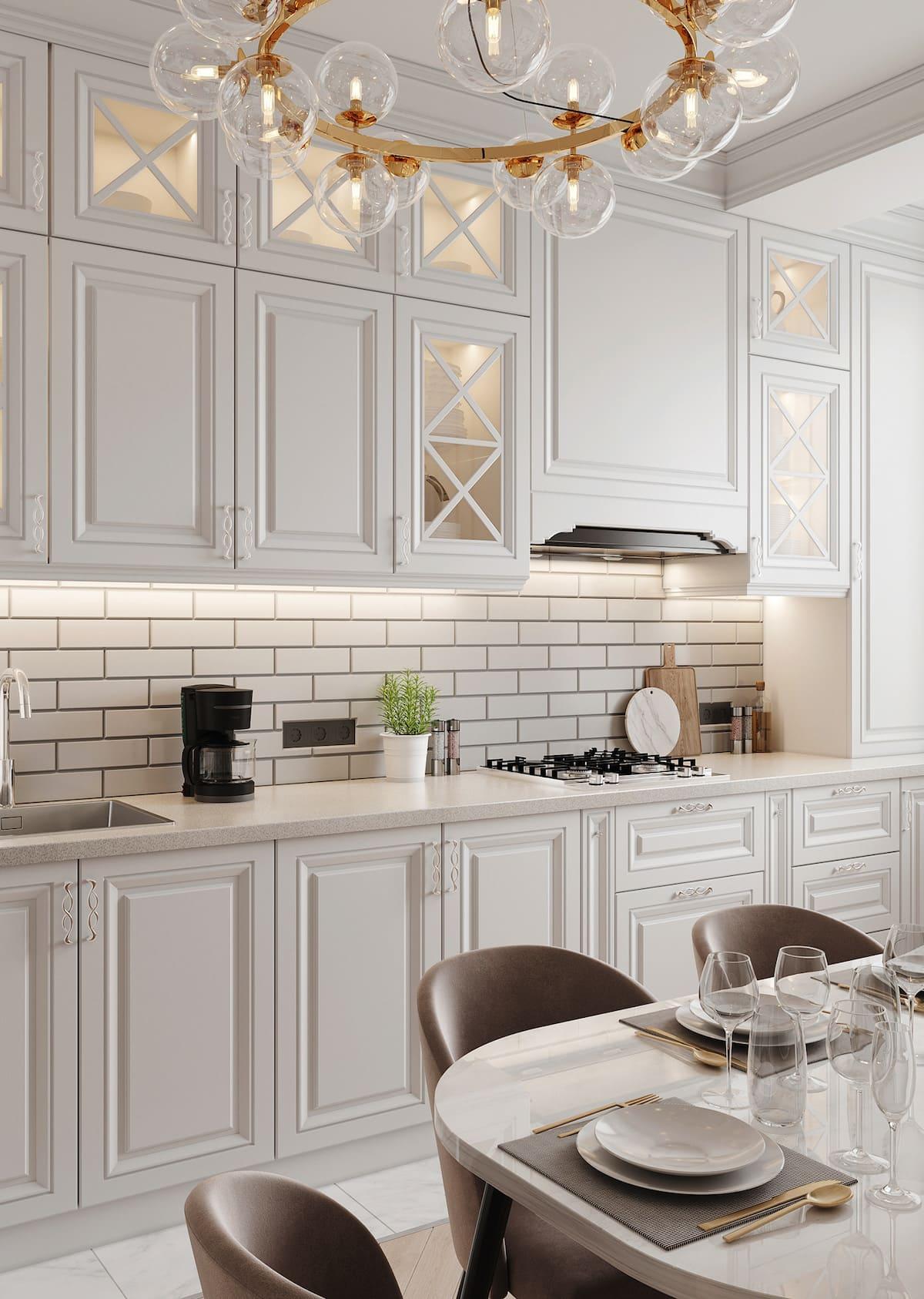красивый дизайн кухни 62