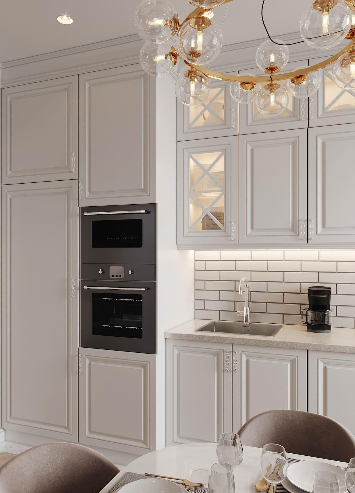красивый дизайн кухни 58