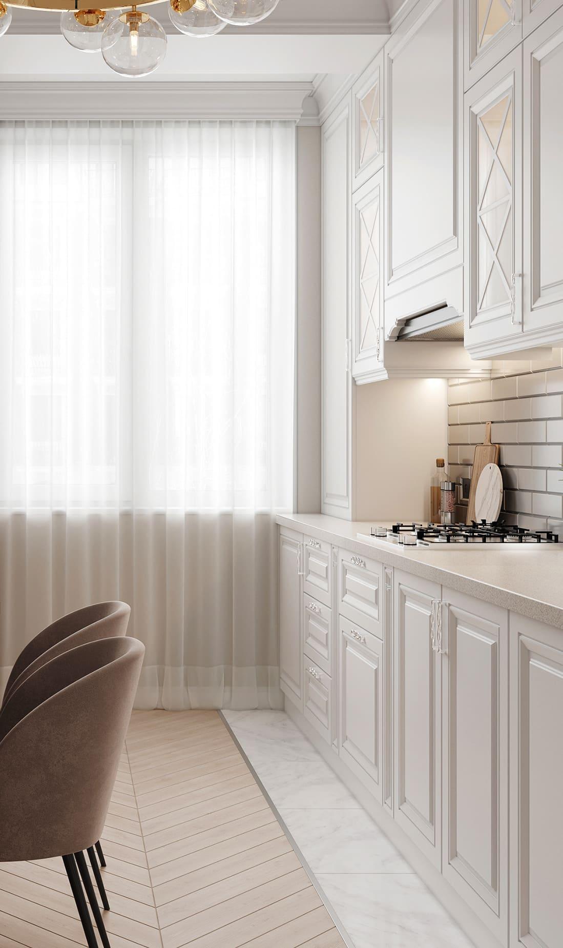красивый дизайн кухни 61