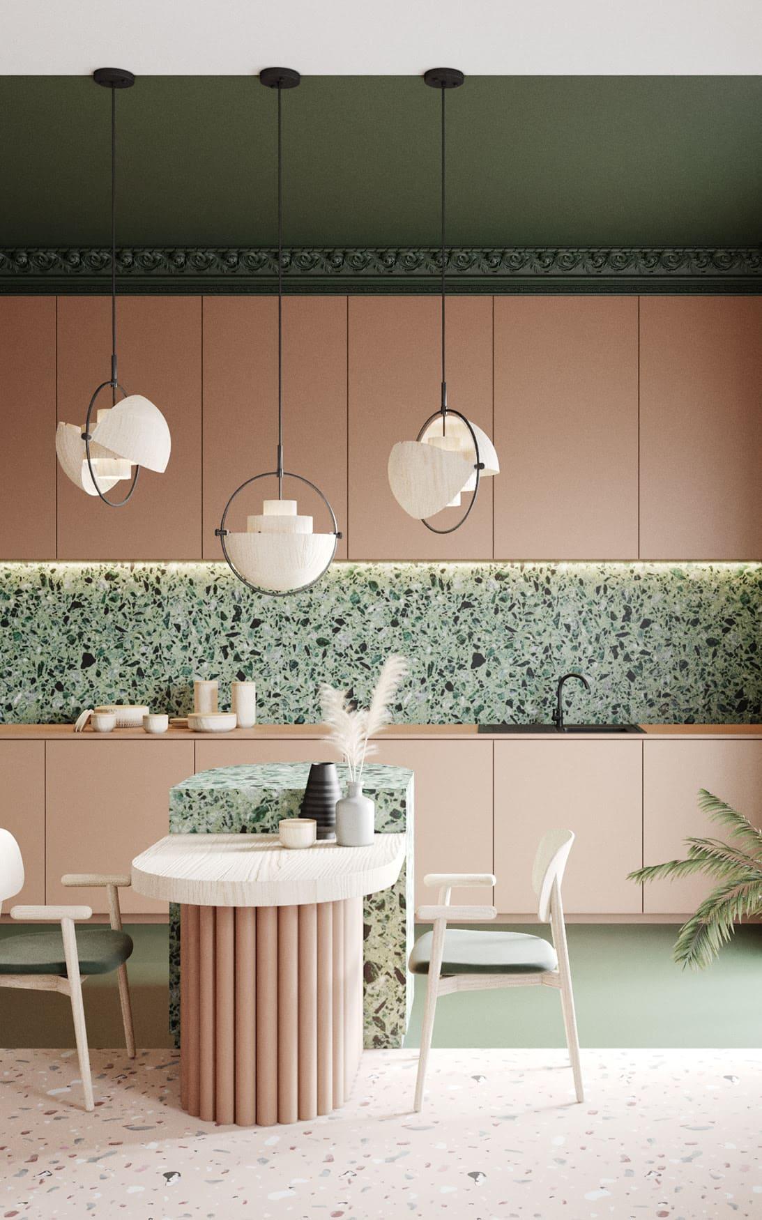 красивый дизайн кухни 81