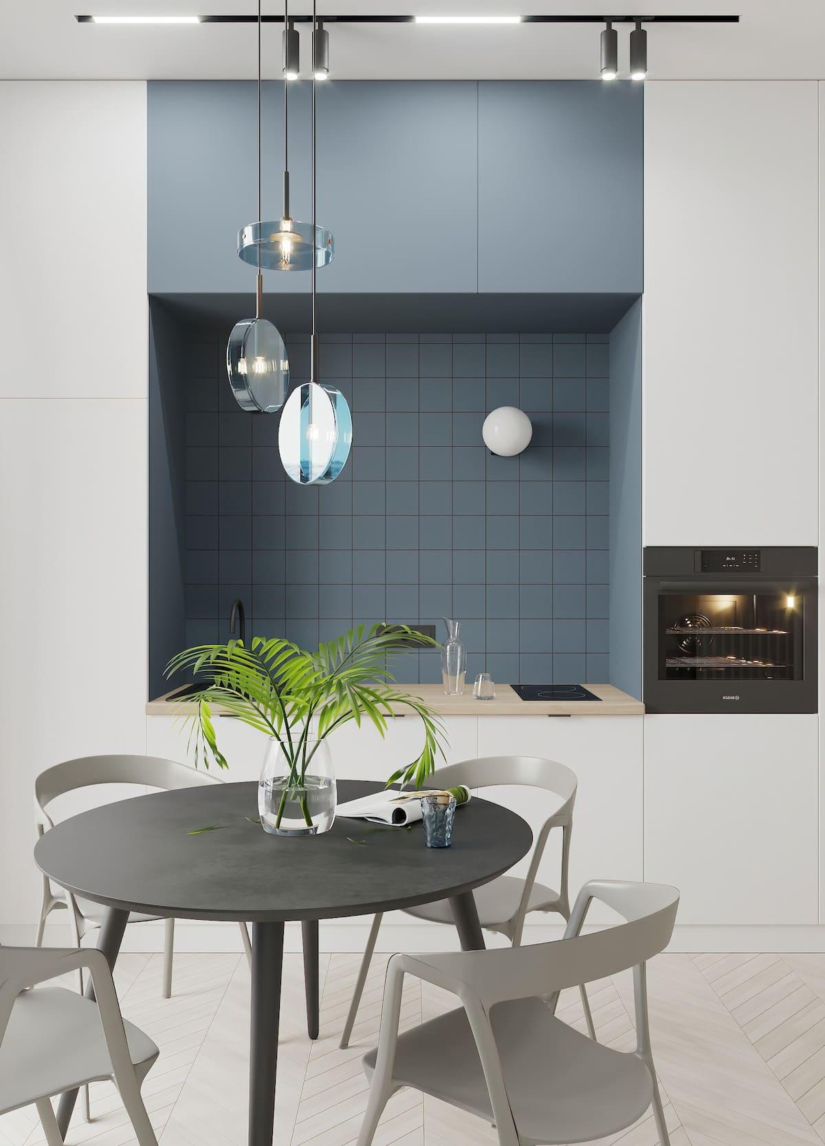 красивый дизайн кухни 46