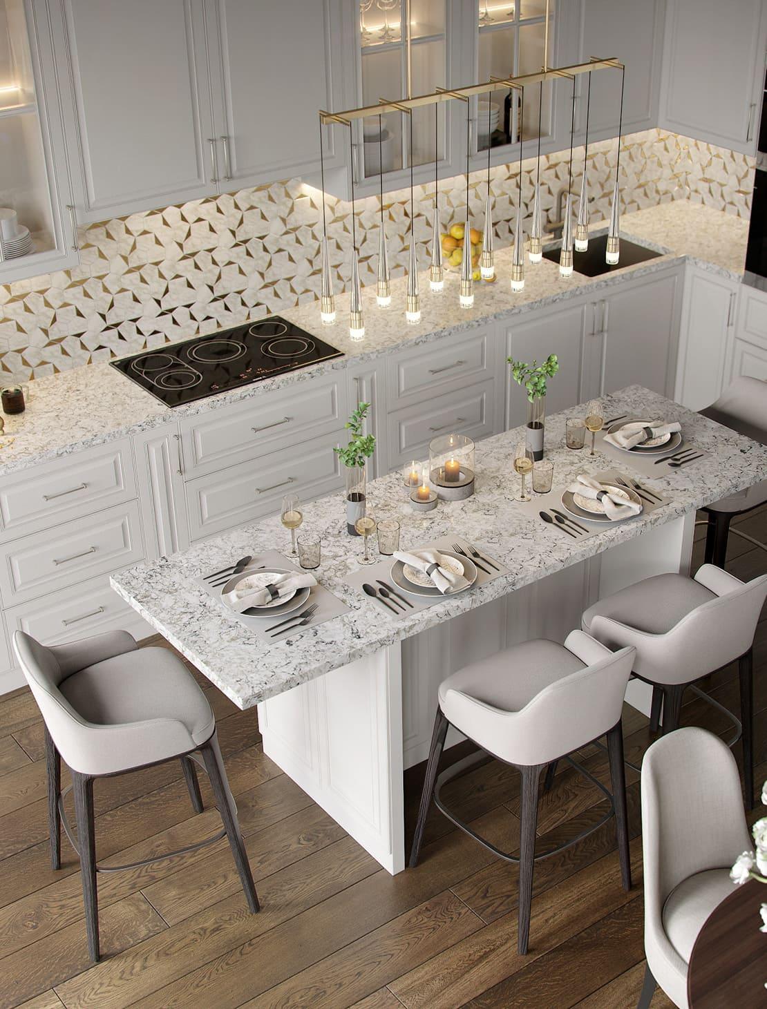 красивый дизайн кухни 76