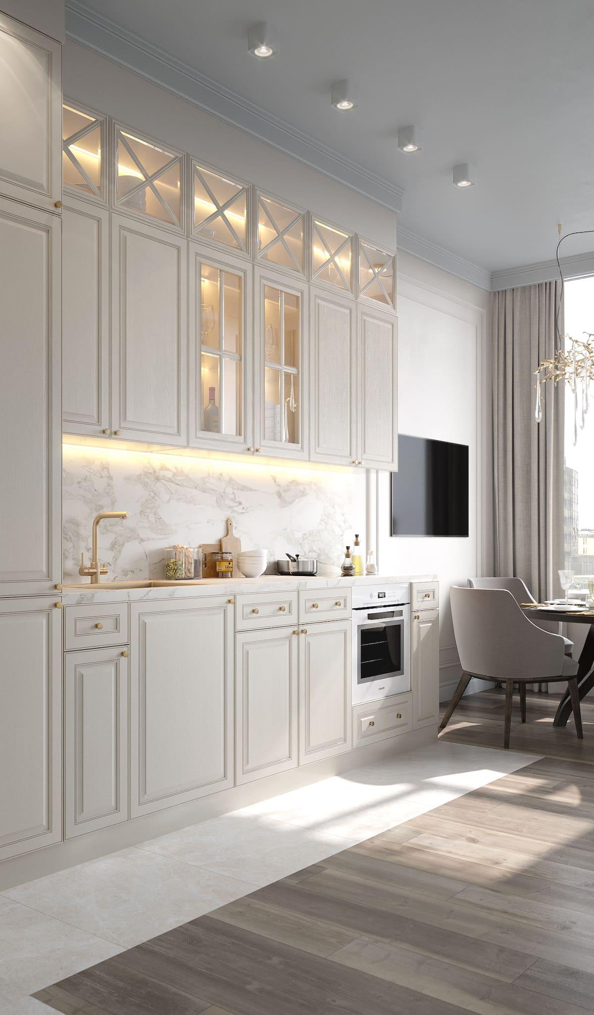 красивый дизайн кухни 23